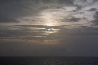 Early Morning Sun on the Ocean