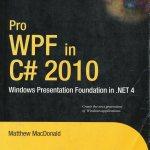 Pro WPF in C# 2010