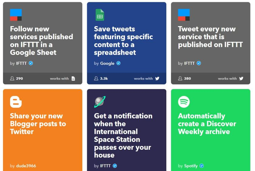 IFTTT - If This Then That Automation