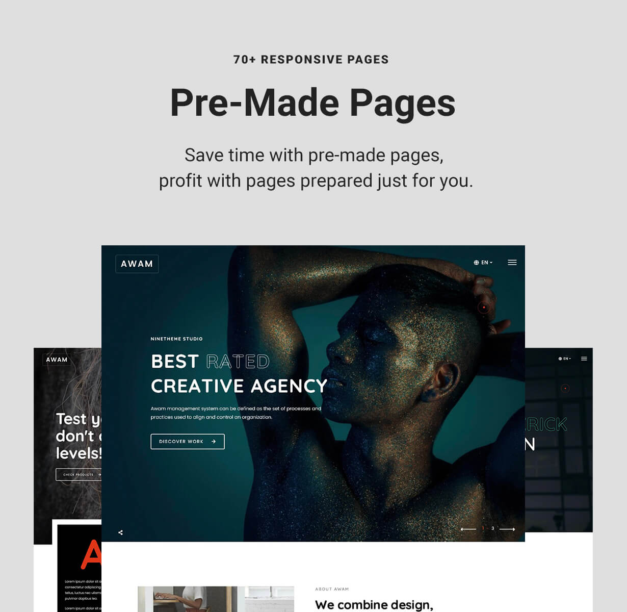 Pre-made WordPress Elementor Pages