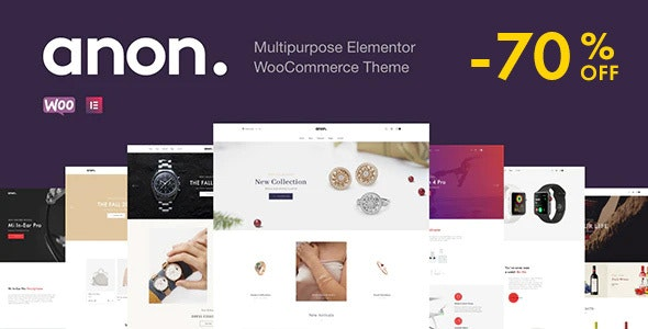 Multipurpose Elementor WooCommerce Themes