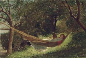 800px-Winslow_Homer_-_Girl_in_the_Hammock_cc