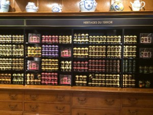 Just a small selection of available mustards.