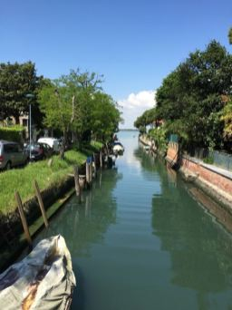 Small canal on The Lido