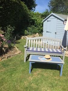 painted garden stuff