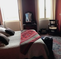 Lovely but old...the room (and me)