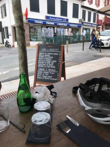 Lunch in Bidart