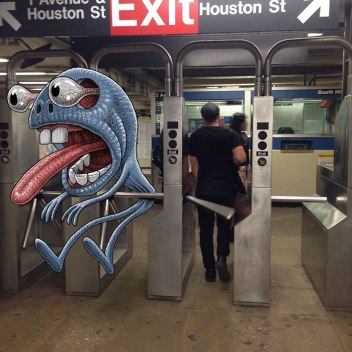 artist-adds-monsters-next-to-strangers-on-the-subway-11