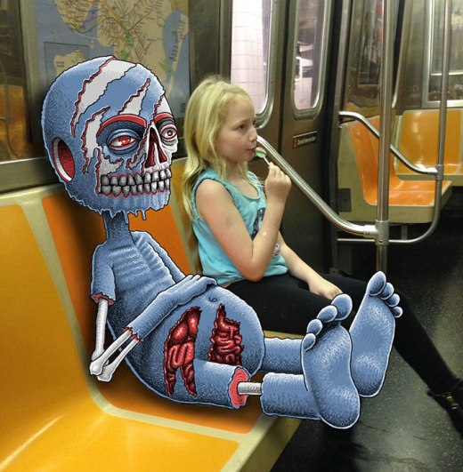 artist-adds-monsters-next-to-strangers-on-the-subway-36