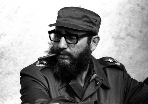 Fidel Castro attends the XX anniversary of his and his fellow revolutionaries arrival on the yacht Granma