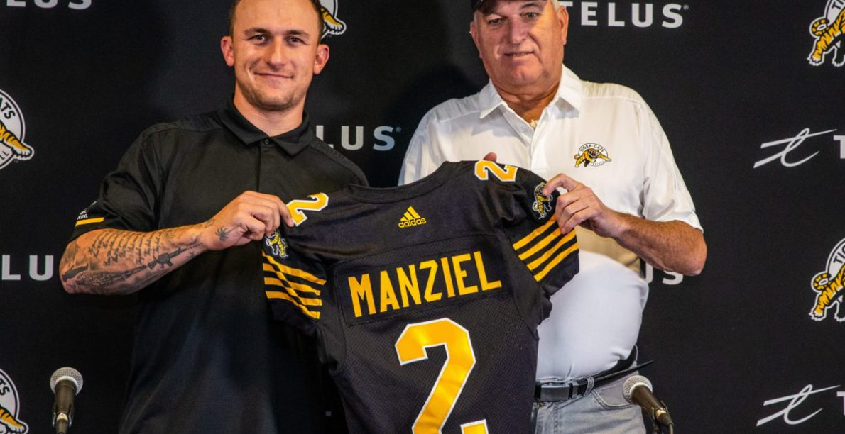The greatest showman or the circus comes to town? Johnny Manziel lands in Hamilton