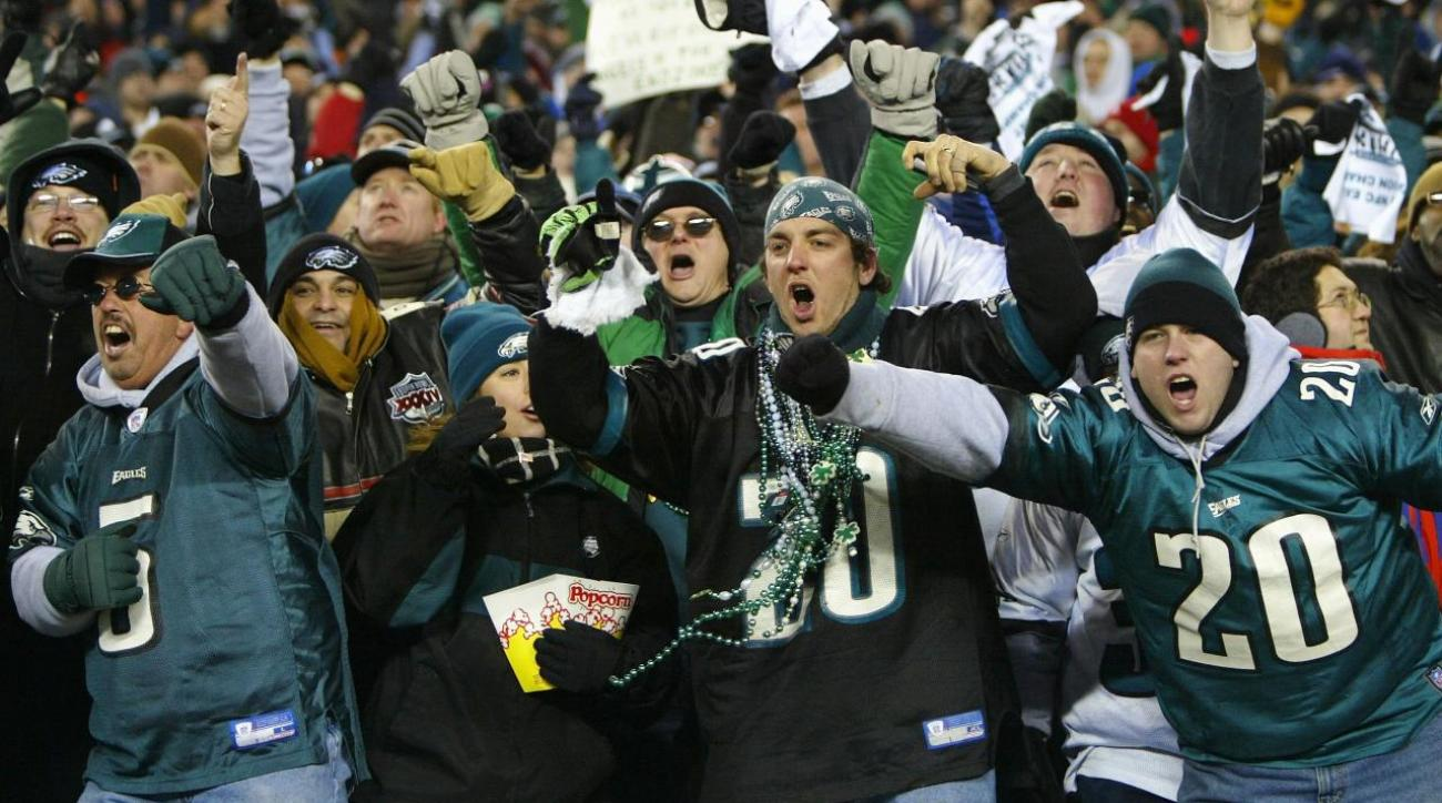 Eagles Fans Boo Team In Season Opener