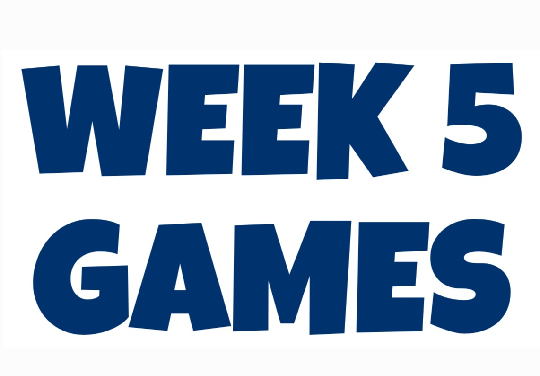 Week 5 Predictions