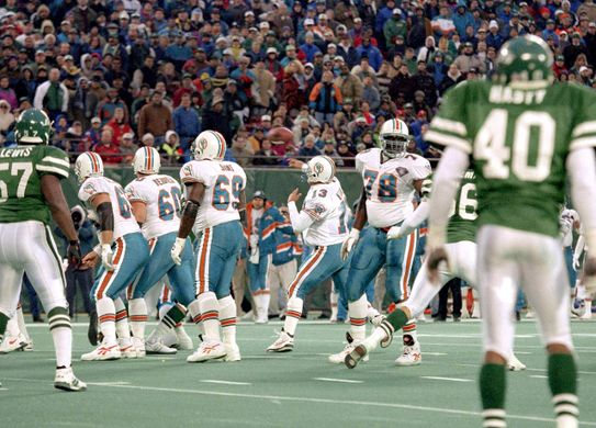 Classic Jets vs Dolphins games