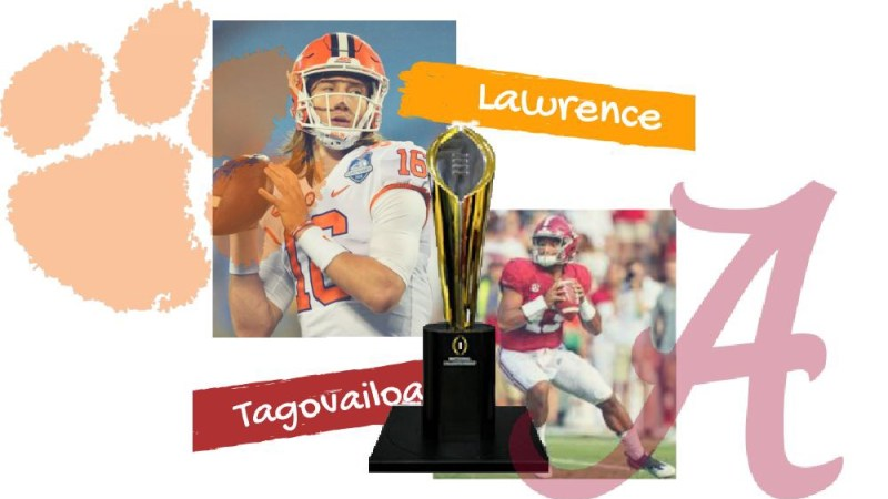 The National Championship is a Tale of Two Quarterbacks