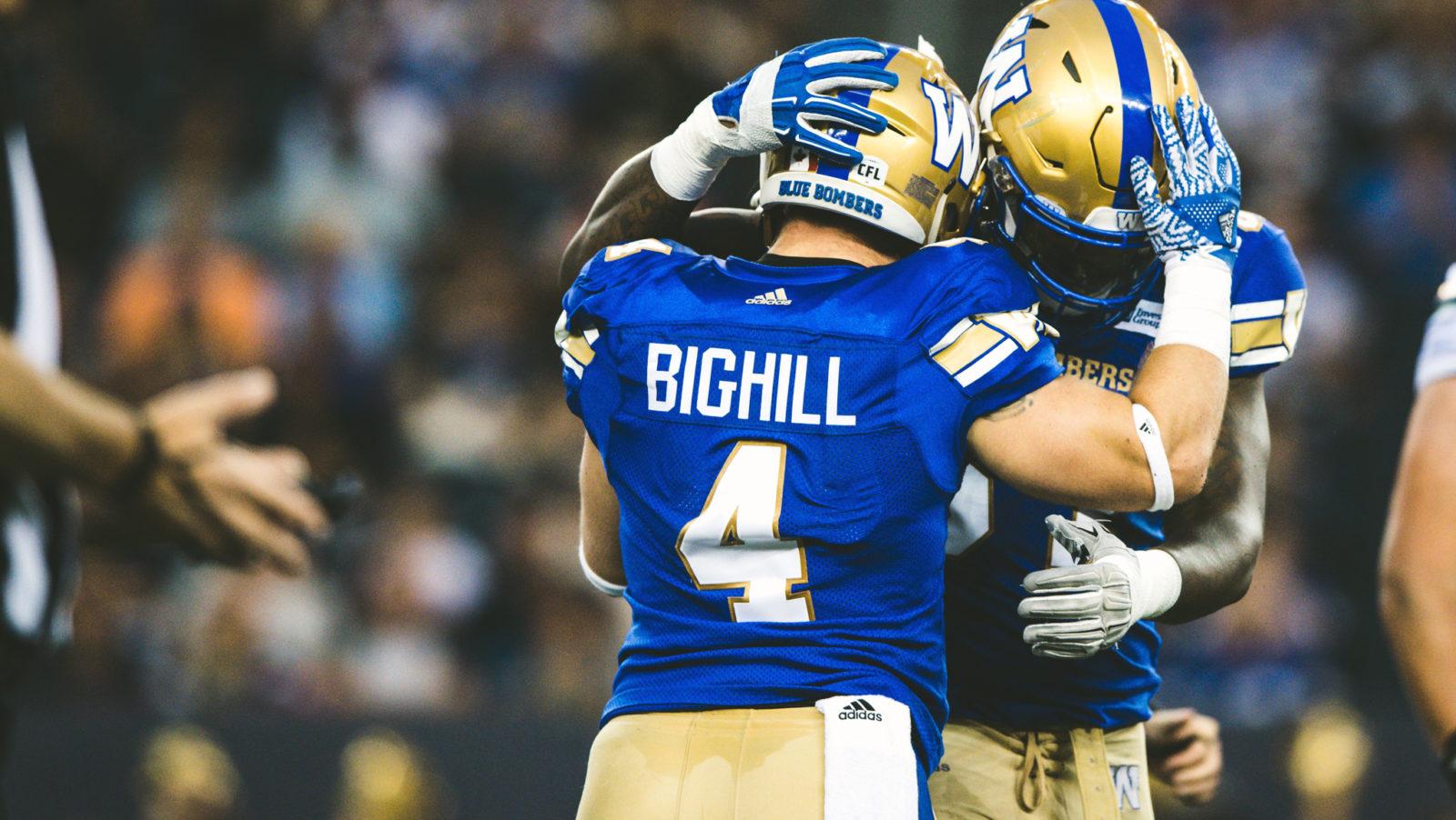 Big news for Winnipeg – Bighill signs a long term deal