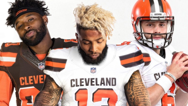 Browns Bend It For Beckham