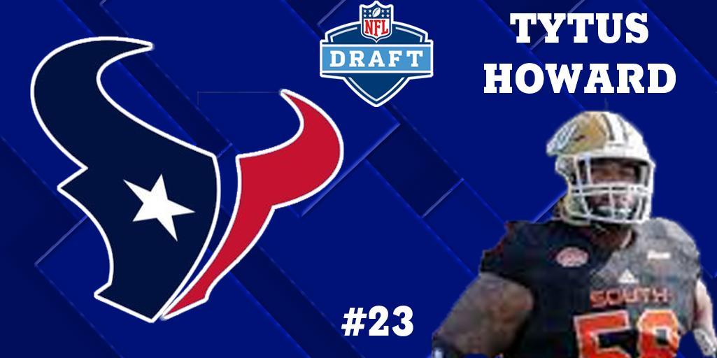 Houston Texans Draft Tytus Howard