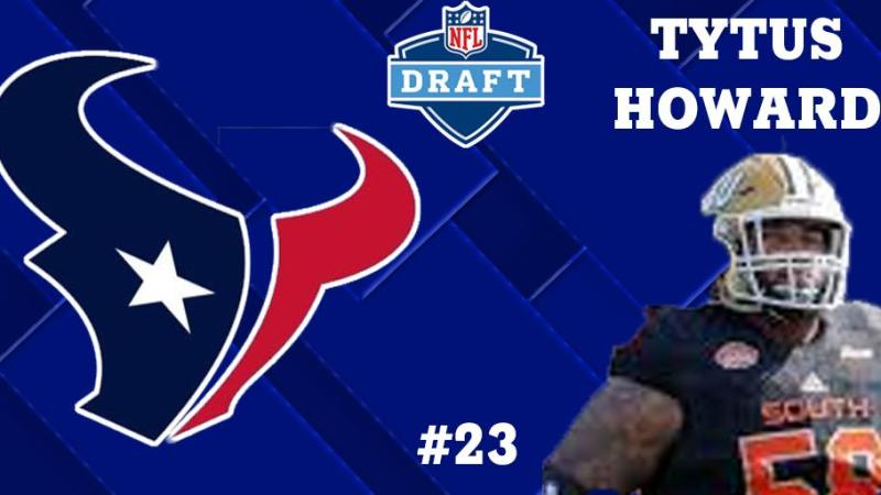 Houston Texans Draft Tytus Howard