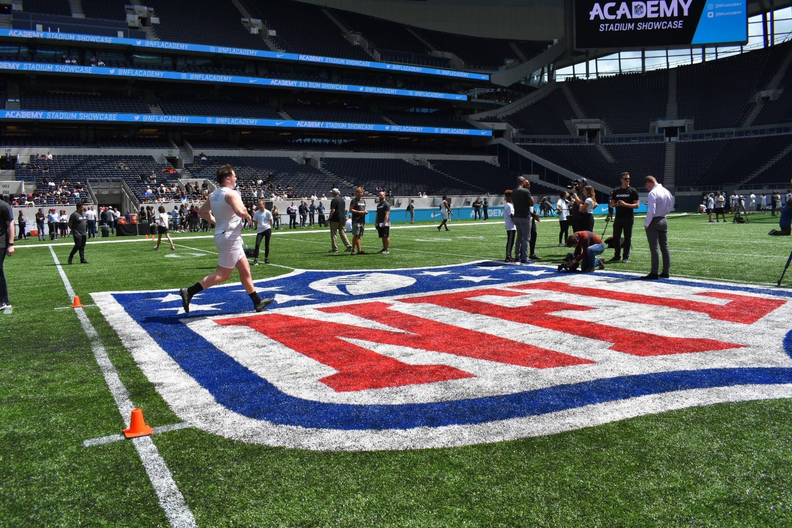 NFL Players and Media Excited about the NFL Academy