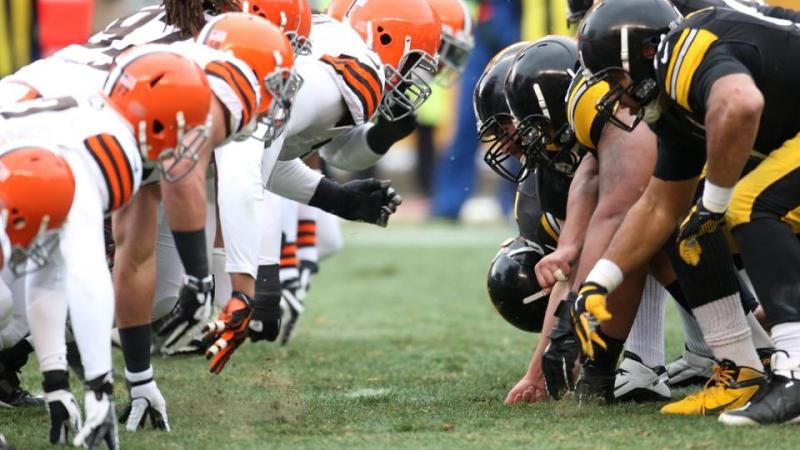 Browns and Steelers line up for a AFC North Clash