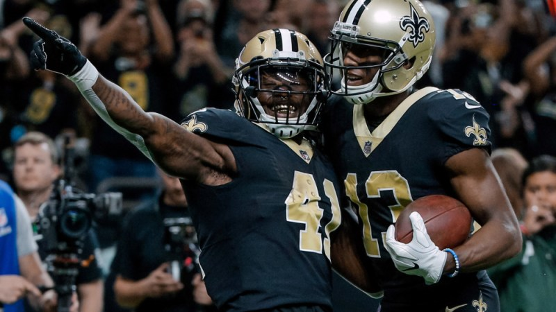 Kamara & Thomas Keep Saints Ticking