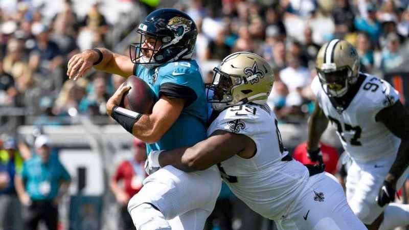 Saints tame Minshew Mania