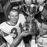 Their First Grey Cup: The Saskatchewan Roughriders lifted the trophy in 1966