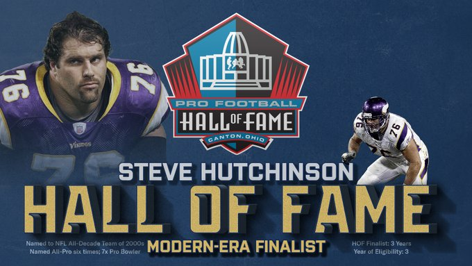 Why Steve Hutchinson belongs in the Hall of Fame