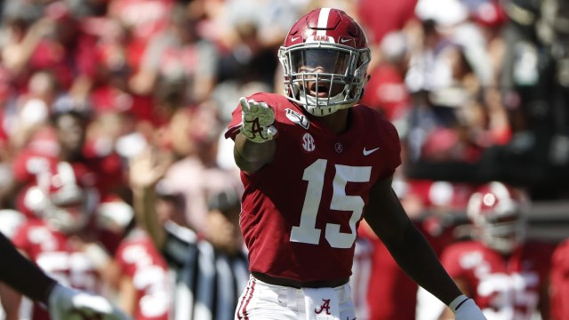 McKinney needs to stake his claim as the top safety draft prospect in 2020. Image Credit: rolltide.com