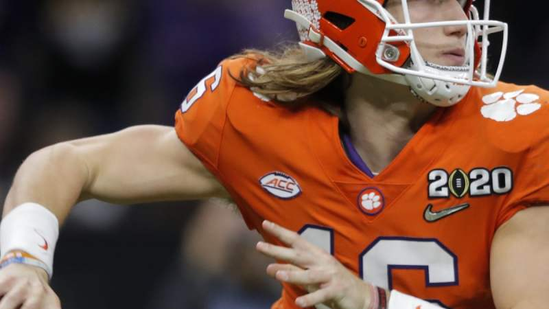 Presumptive number one draft pick Trevor Lawrence