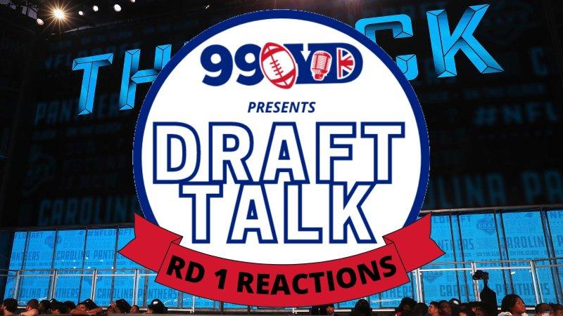 Round 1 Draft Pick Reactions