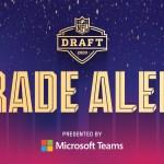 nfl draft trade
