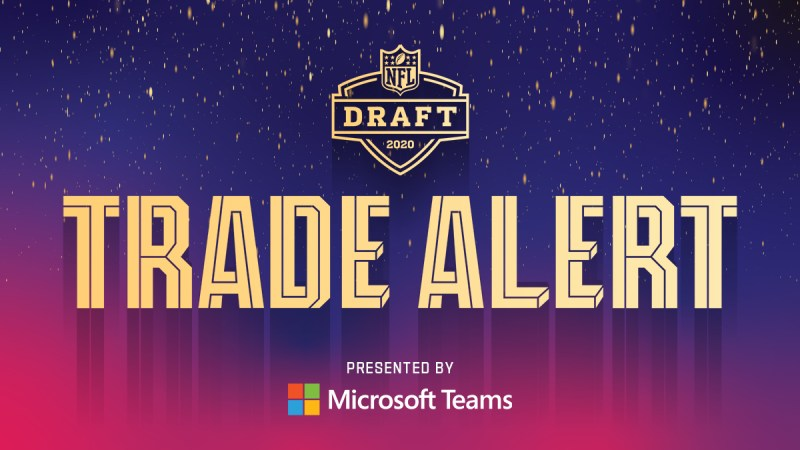 nfl draft trade