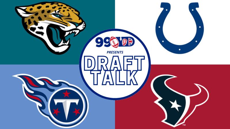 NFL Draft: AFC South Team Grades