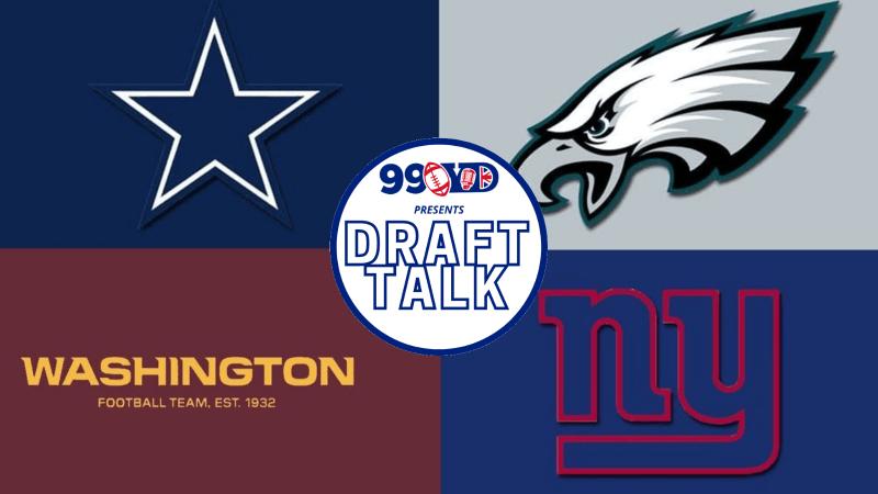 NFL Draft: NFC East Team Grades