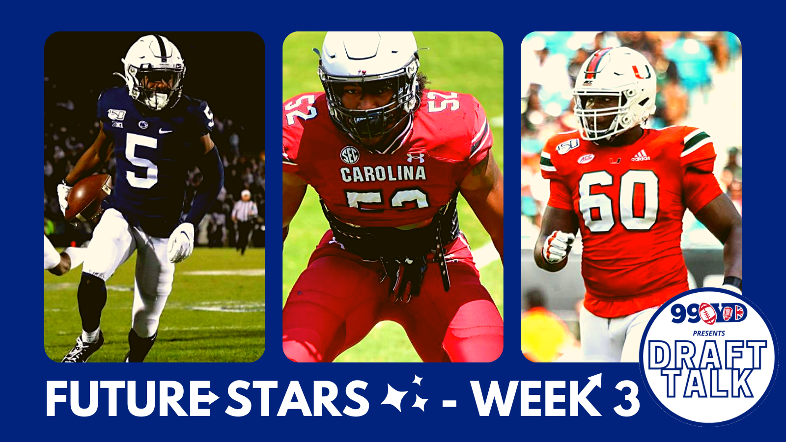 Future Stars: The Best NFL Draft Prospects To Discover – Week 3