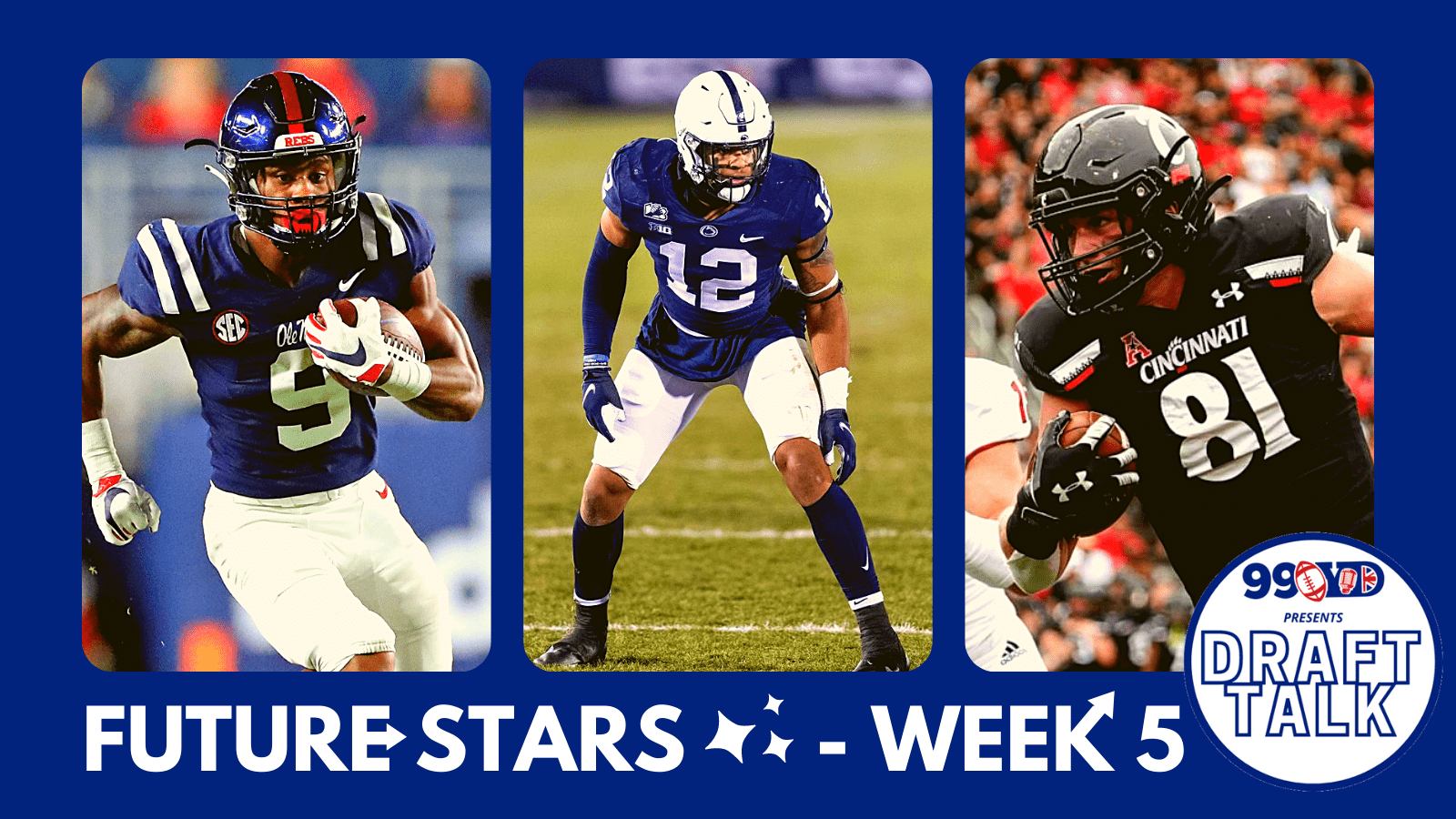 Future Stars: The Best NFL Draft Prospects To Discover – Week 5