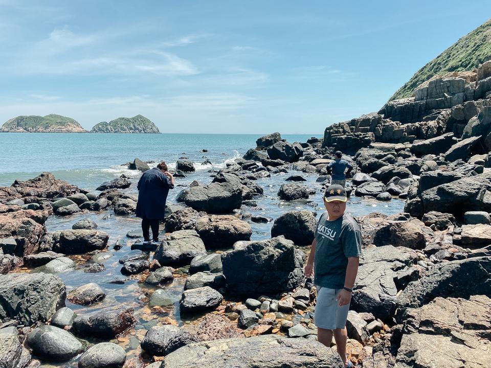 礁岩採拓-在地人的討海日常