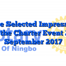 Some Selected Impressions OF the Charter Event 2nd September 2017
