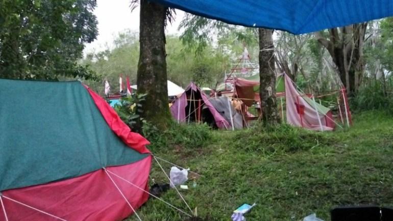 Camping di Sinolewah