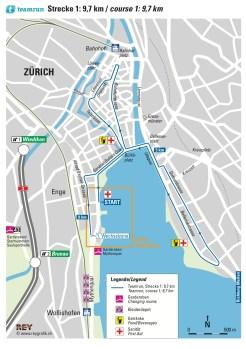 Zurich Marathon Teamrun 9.7 km