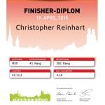 Zurich Cityrun Diploma Christopher Reinhart