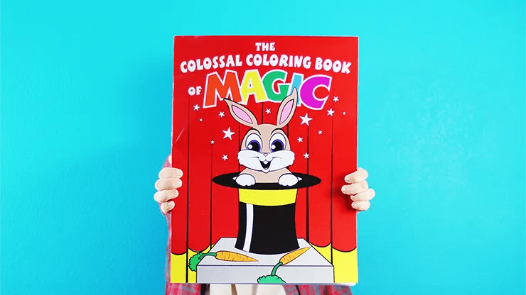 Review: Colossal Magic Coloring Book by Danny Orleans | NINGthing.com