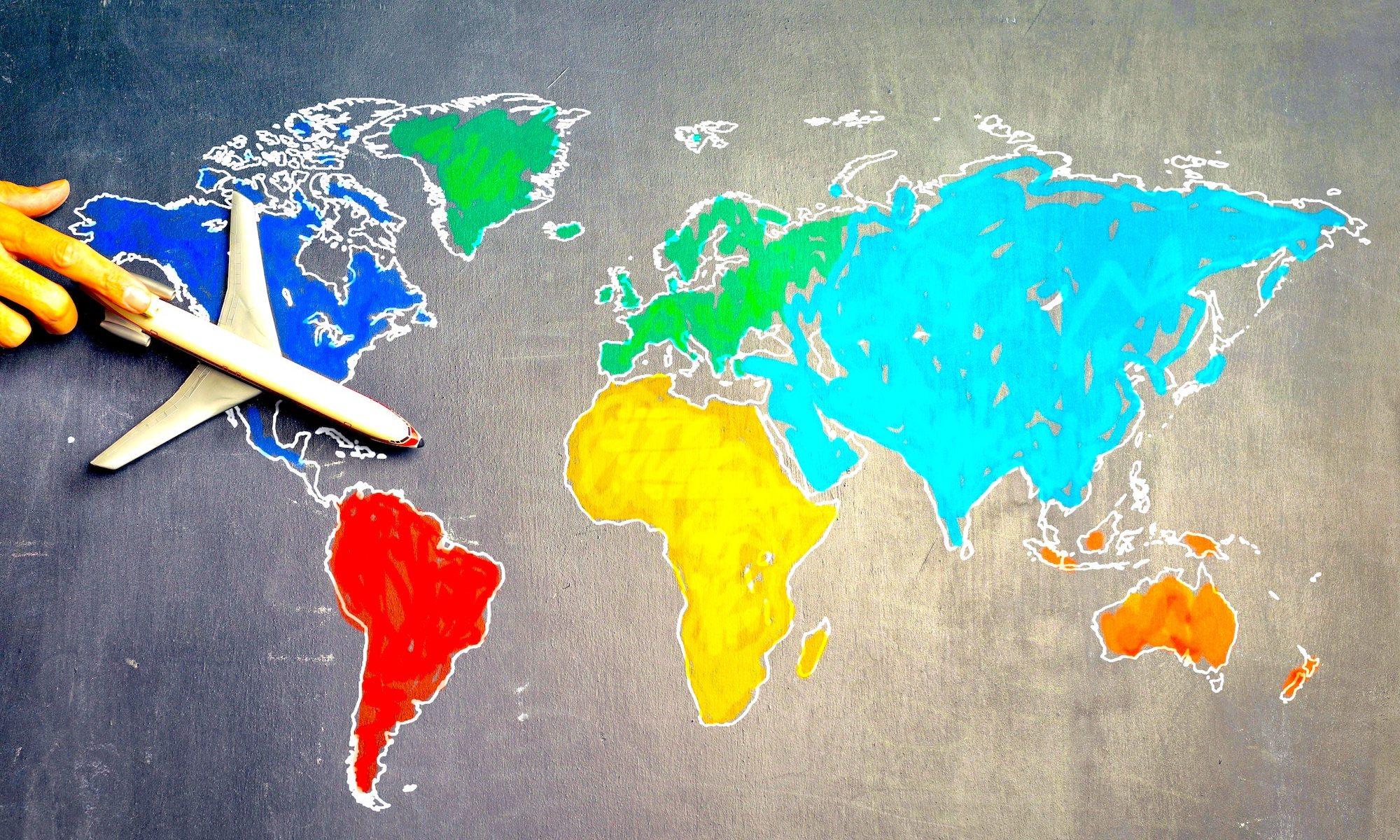 ¿Cuántos continentes hay y cuáles son?