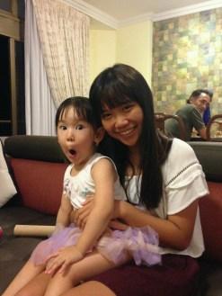 At Ean Ah Ma's house