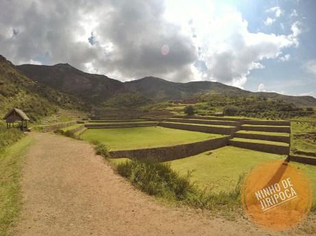 Ruinas Incas de Tipon no Peru