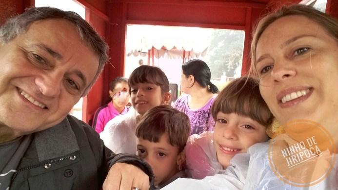 Tremzinho na Aldeia do Papai Noel em Gramado