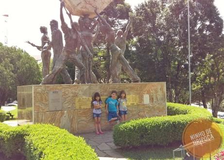 Nova Petropolis com crianças