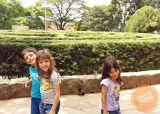 Labirinto Verde com crianças Nova Petropolis